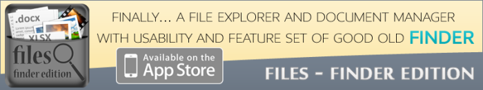 Files-Finder Edition Banner